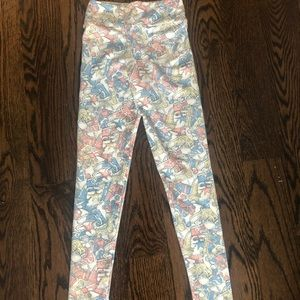 LulaRoe tween legging